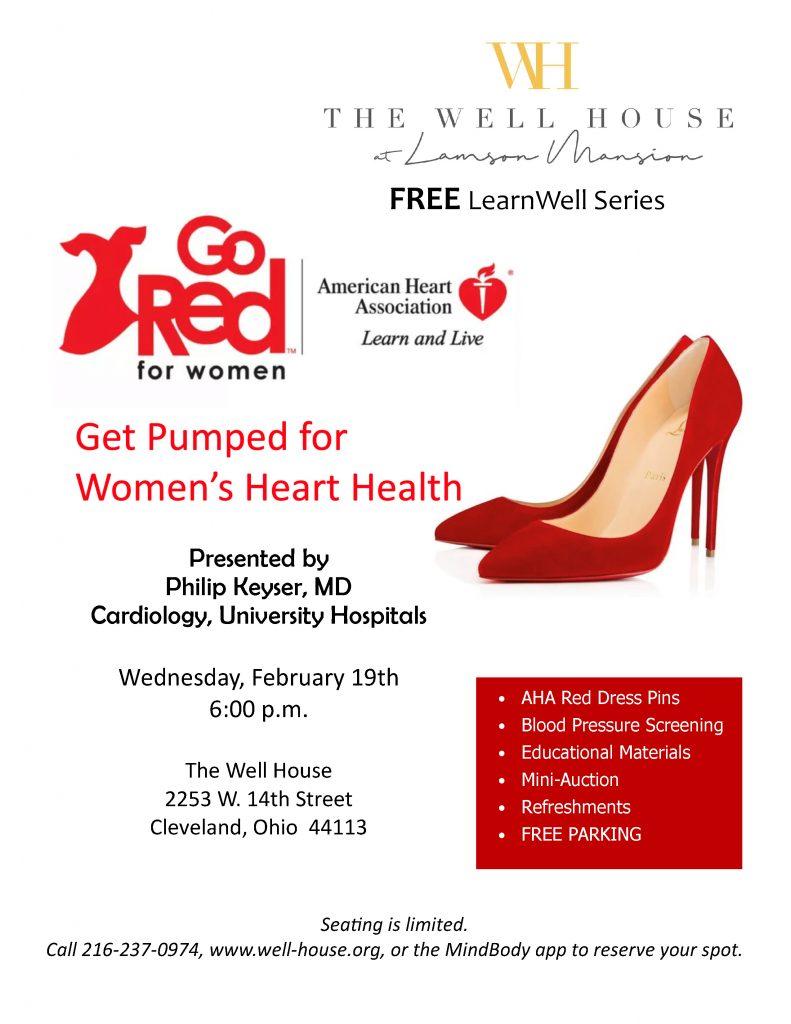 Get Pumped Womens Heart Health