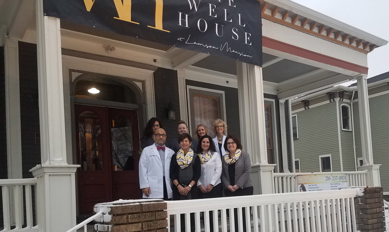 The Well House Spa for Beauty and Wellness Treatments - Staff Photo Outside - A collection of Spa, beauty, and other wellness treatments inspired to help you lead a happier, healthier life.
